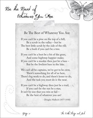 Motivational poems for work