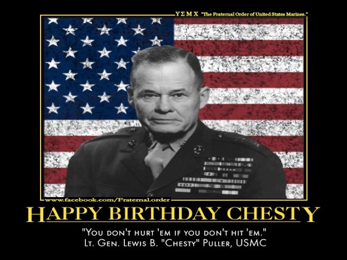 Marine Corps Quotes Chesty Puller. QuotesGram