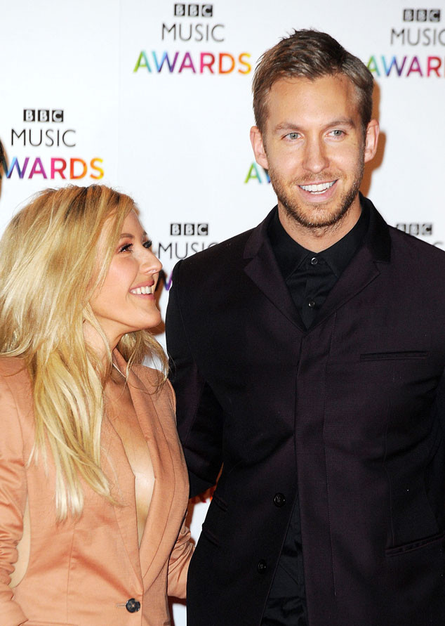 do calvin harris and ellie goulding dating mcfly