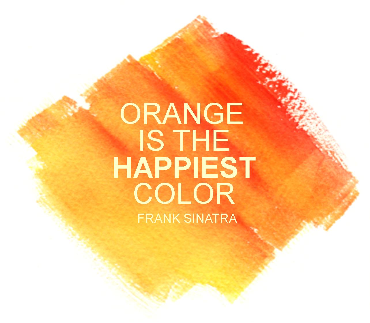 quotes on color orange  quotesgram