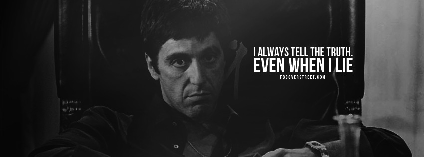 Bad Guy Scarface Quotes. QuotesGram | 850 x 315 jpeg 38kB