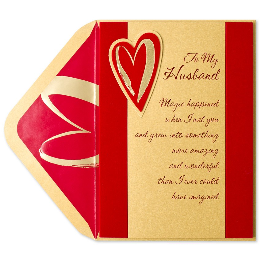 Valentine Card For Husband Quotes. QuotesGram