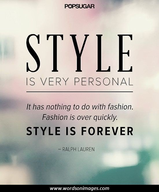 Famous Quotes About Clothing Quotesgram