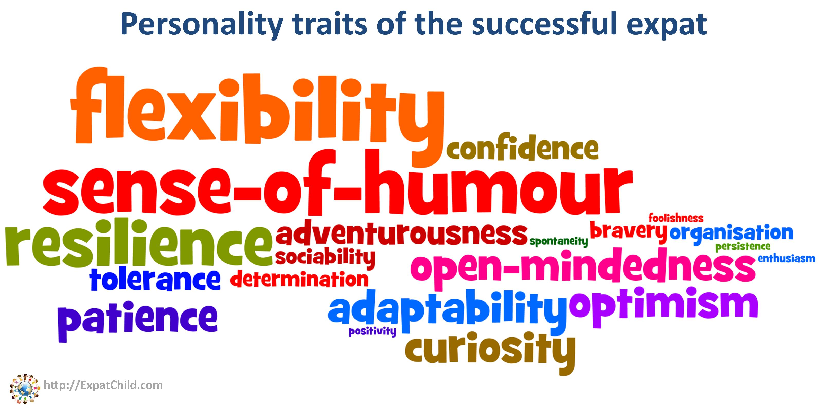 Personal Qualities List