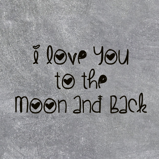 I Love You Quotes: I Love You To The Moon And Back Baby Quotes. QuotesGram
