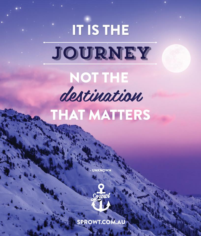 Quotes About The Journey Not The Destination. QuotesGram