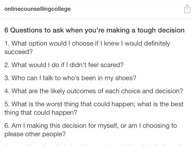 the toughest decision in my life This is the hr interview questions and answers on what was the toughest decision you ever had to make i think i make 2 toughest decision in my life.