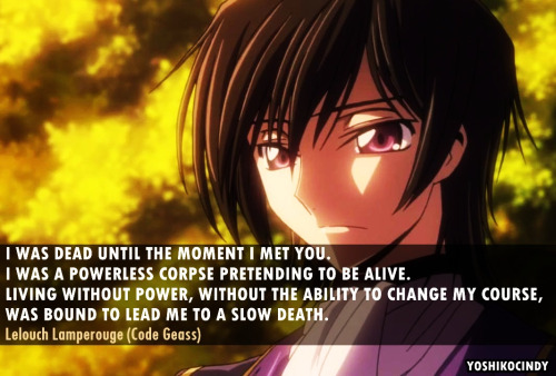 Code Geass Quotes Happiness Is Like Glass