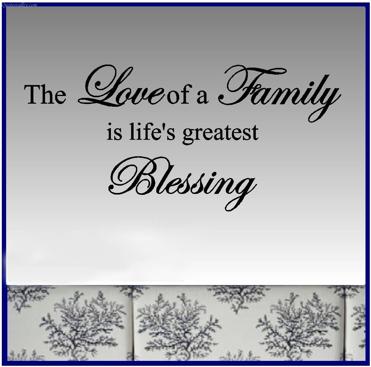 Short Religious Quotes About Family: Family Blessings Quotes. QuotesGram