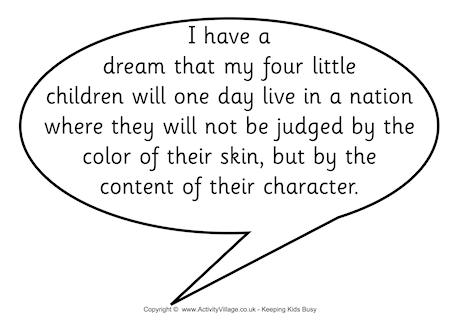 children who have a dream essay