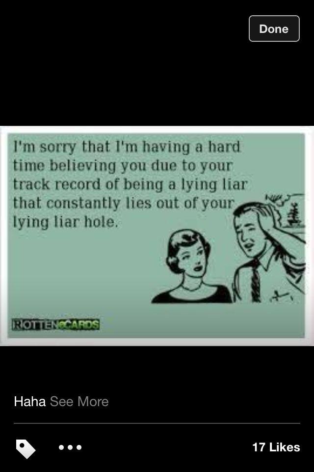 I Hate Liars Quotes Quotesgram