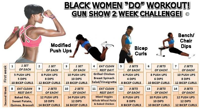 Black Women Workout Quotes. QuotesGram