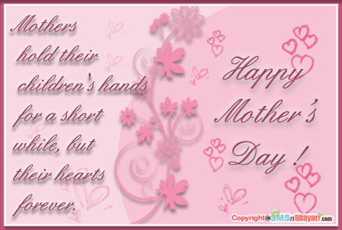 hands holding a heart mothers day card happy mothers day quotes quotesgram 8101