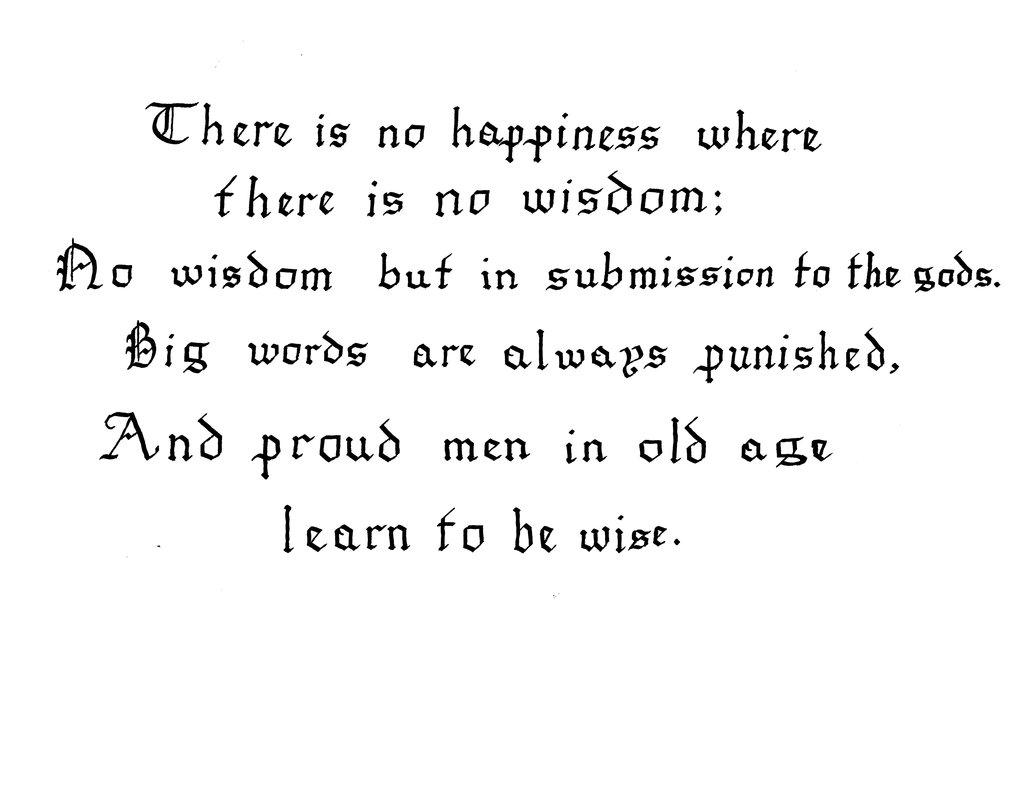 Antigone Sophocles Quotes
