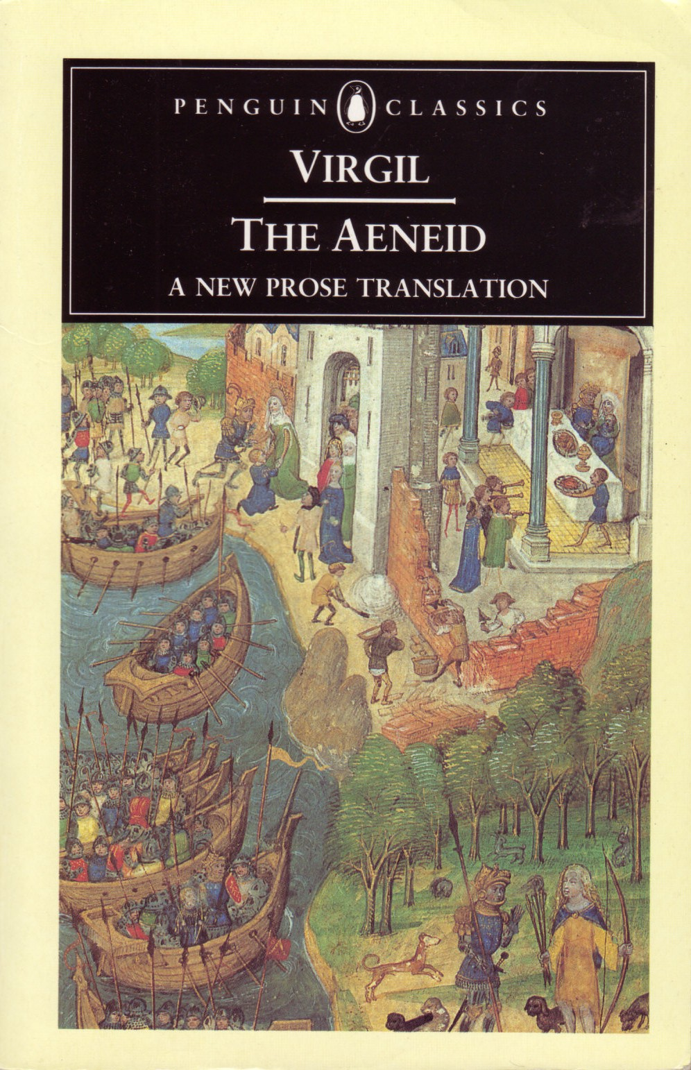 the aeneid poem by virgil Mosaic of virgil writing the 'aeneid' alongside muses clio and melpomene virgil's last work was the 'aeneid', an epic poem in 12 books which looks back to homer's two epic poems the 'odyssey' and the 'iliad', of the eighth century bc.