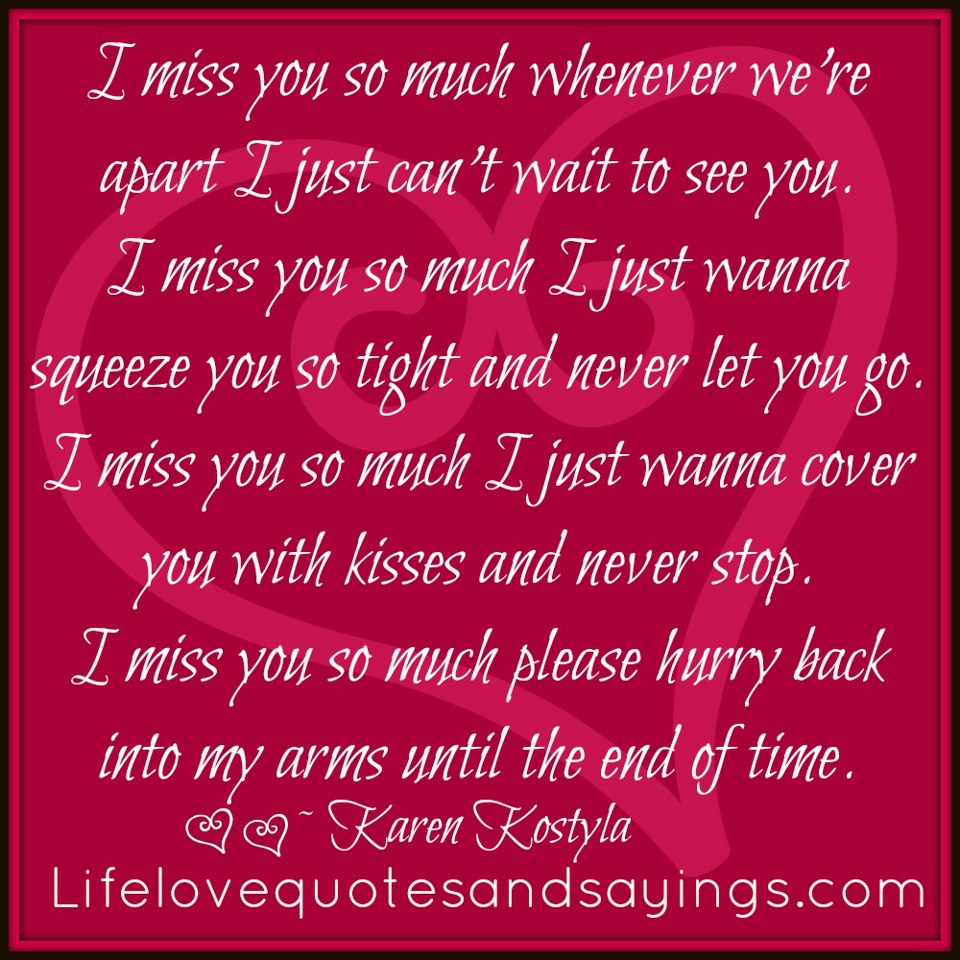 Quotes pictures love miss you 80 Quotes