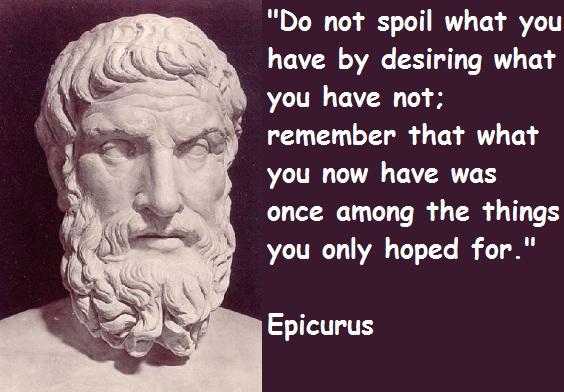 epicurus philosophy essay