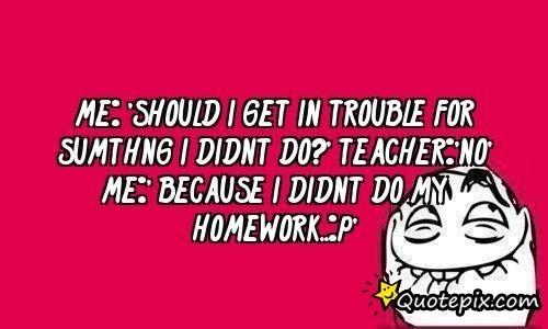 Homework motivation funny sating