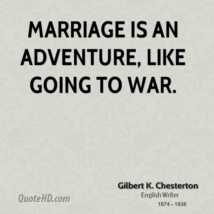 Quotes About Marriage: Daily Chesterton Quotes. QuotesGram