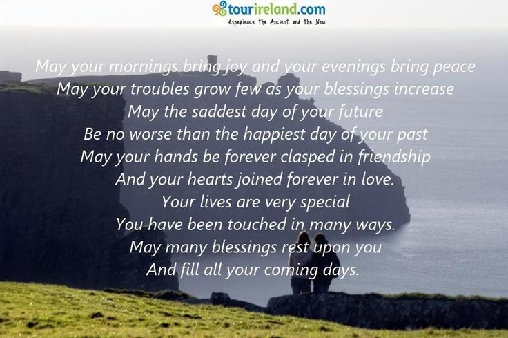 Irish Wedding Blessings And Quotes Quotesgram