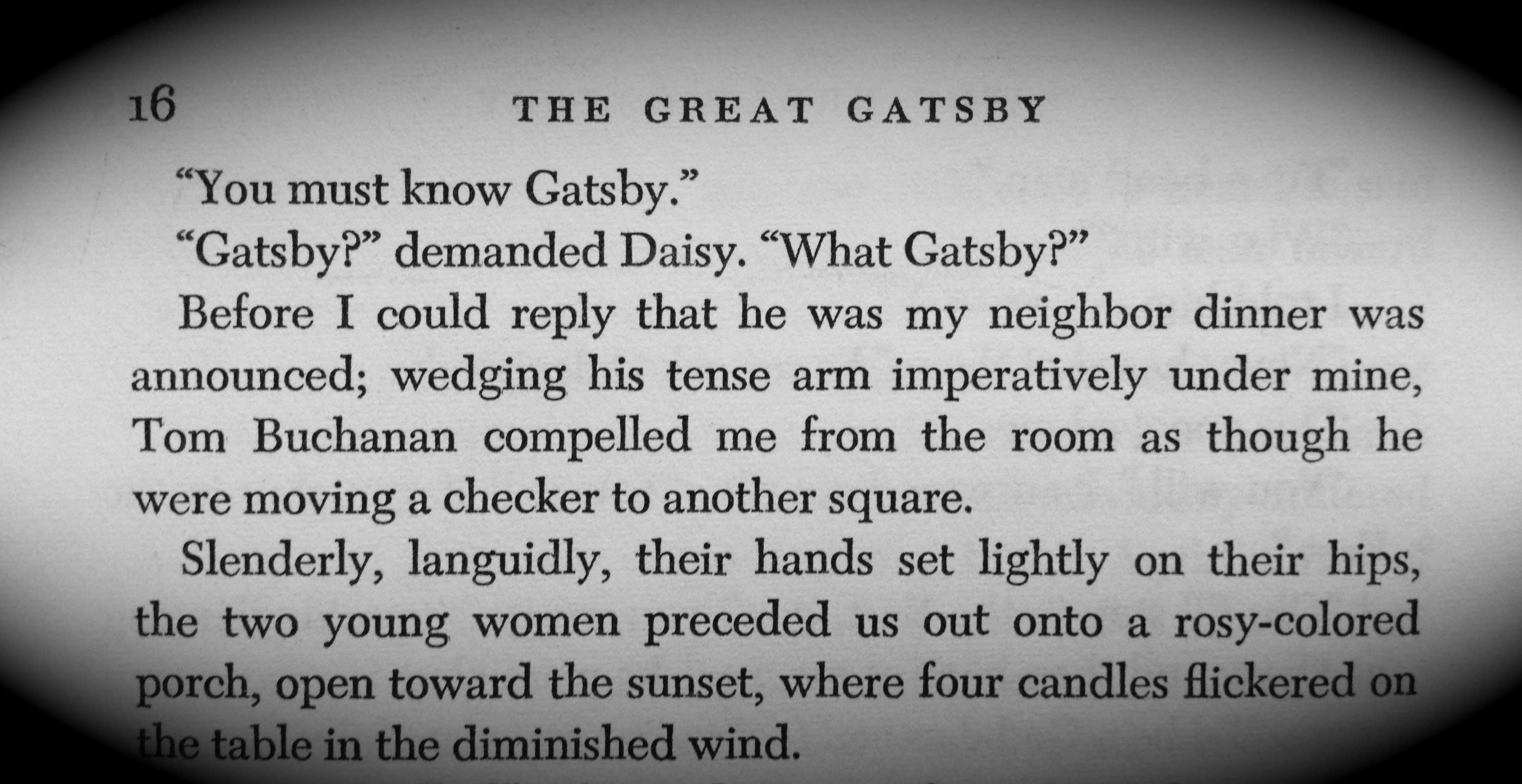 the great gatsby love or I'm not sure about you guys, but when i read the first few chapters of the great  gatsby, i couldn't help but wonder 'sotom cheats on daisy with.