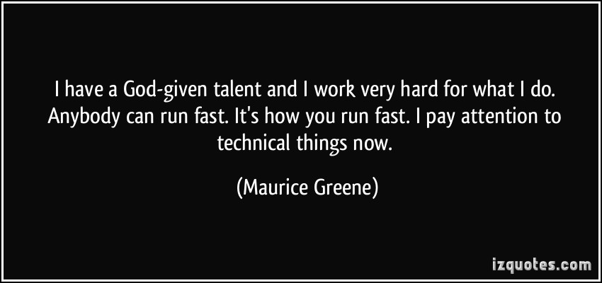 God-Given Talent Quotes. QuotesGram