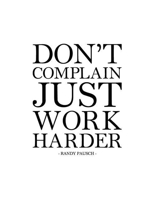 Complaining At Work Quotes. QuotesGram