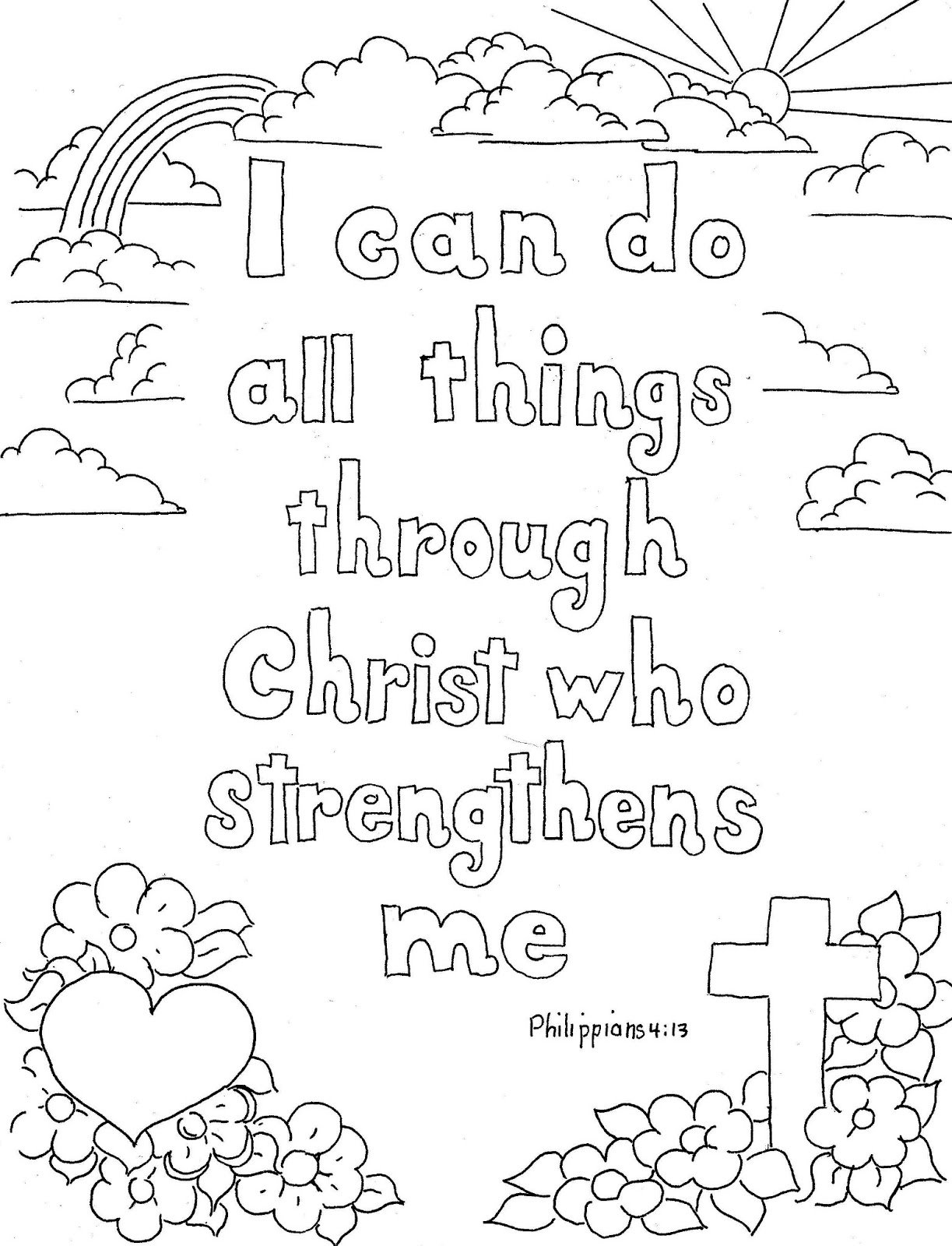 gates of heaven Colouring Pages | Bible coloring pages, Bible ... | 1600x1223