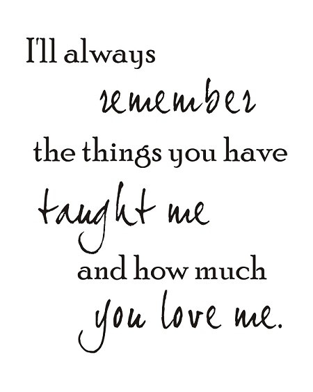 Ill Always Remember You Quotes. QuotesGram