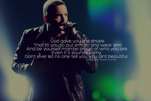 eminem quotes from songs beautiful - photo #25