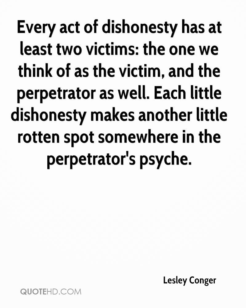 Dishonesty Quotes: Crime Victim Quotes. QuotesGram