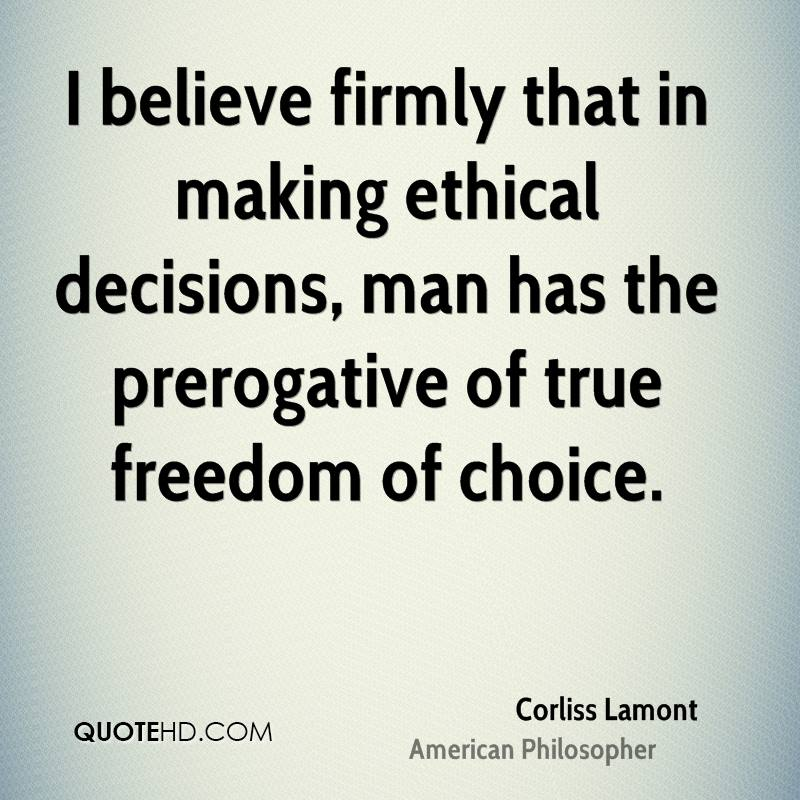 how to make ethical decisions