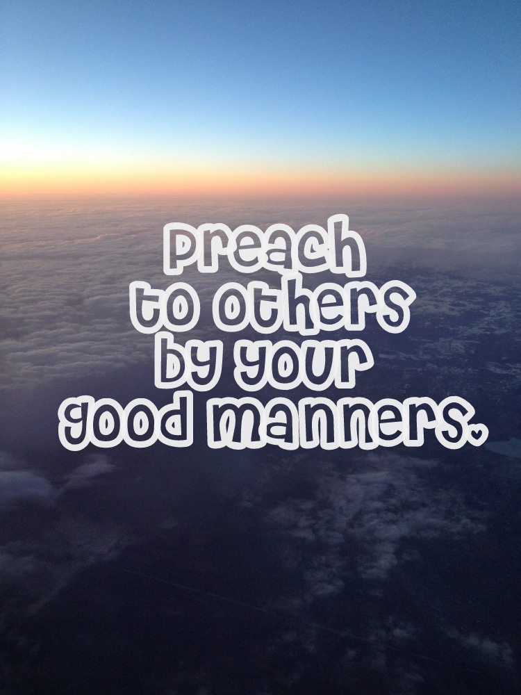 Quotes About Life: Manners Quotes About Life. QuotesGram