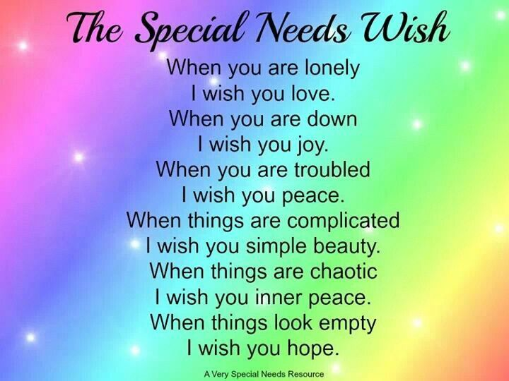 Special Needs Quotes. QuotesGram