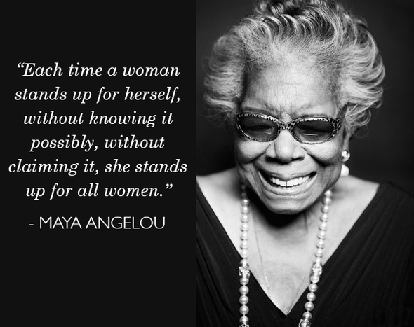Maya Angelou Quotes And Sayings: Empowerment Quotes For Women By Maya Angelou. QuotesGram