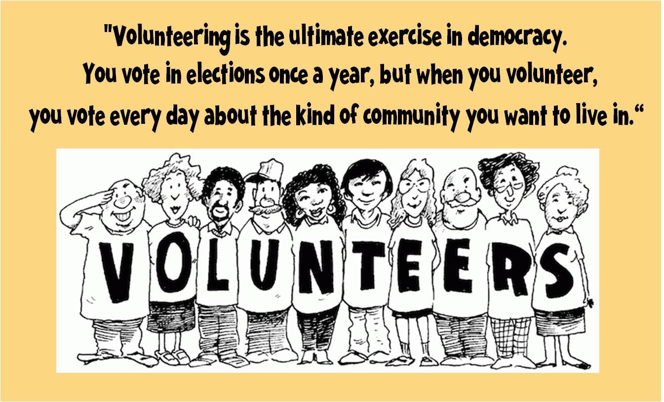 volunteer appreciation quotes inspirational quotesgram