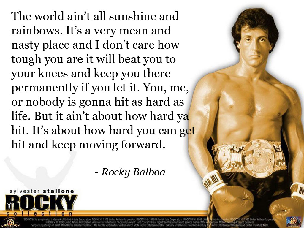 Speech To Rocky Mickey Quotes. QuotesGram