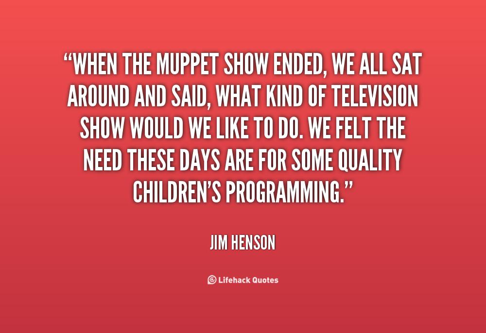 Jim Henson Quotes On Imagination. QuotesGram
