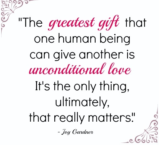Unconditional Love Uote: Love Unconditionally Quotes. QuotesGram