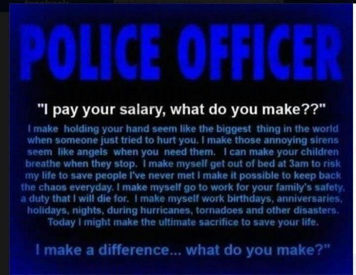 Thank A Police Officer Quotes. QuotesGram