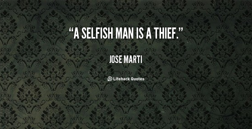 Selfish People Quotes: Selfish And Inconsiderate Quotes. QuotesGram