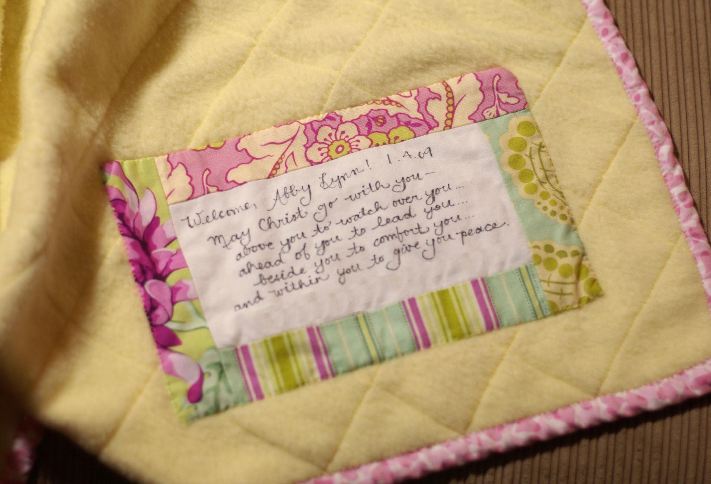 Baby Quilt Label Quotes. QuotesGram