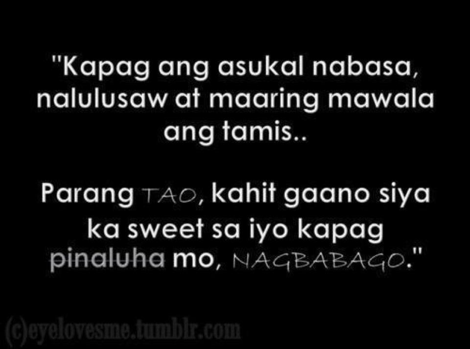 Sweet Love Quotes Tagalog For Her Tumblr Image Quotes At: Hurt Quotes Tagalog. QuotesGram