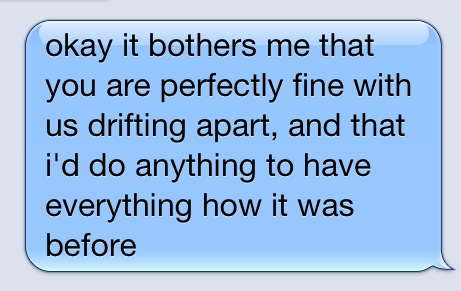 my friends and i are drifting apart relationship