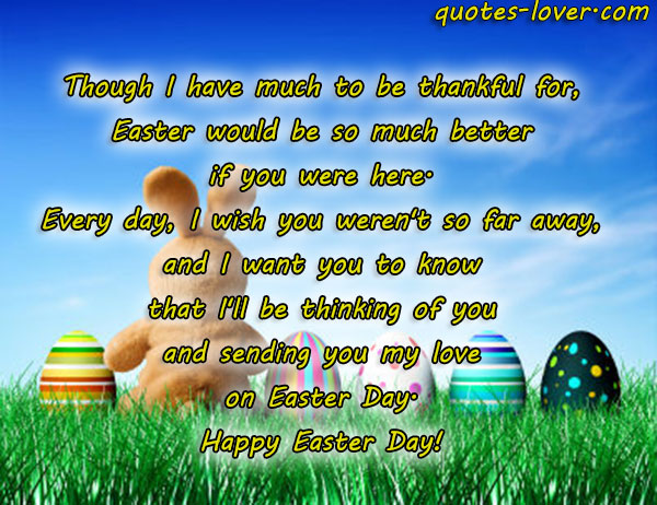 Easter I Love You Quotes. QuotesGram