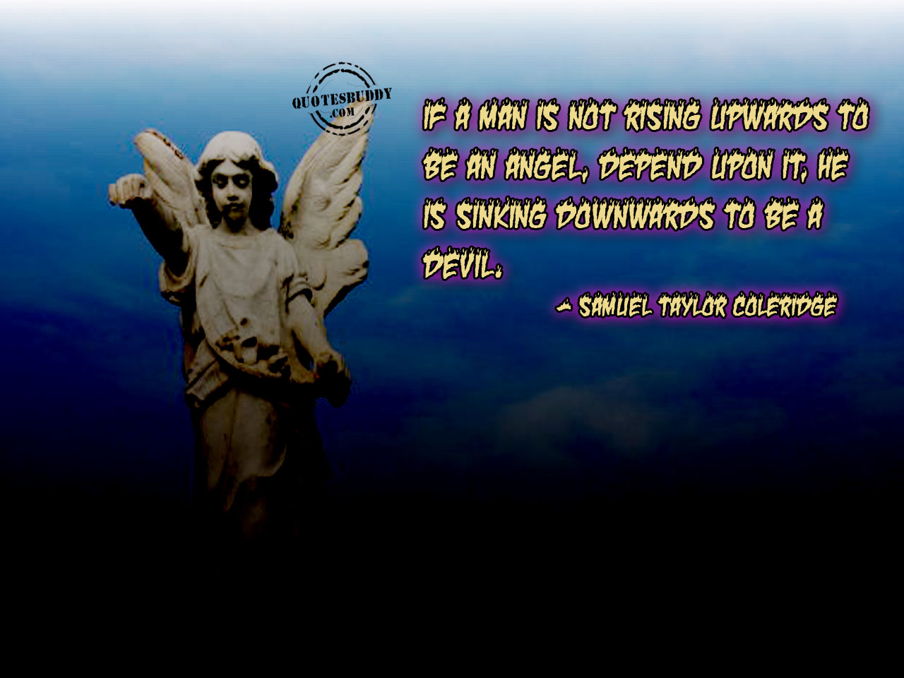 Devil And Angel Quotes: Angel Vs Devil Quotes. QuotesGram
