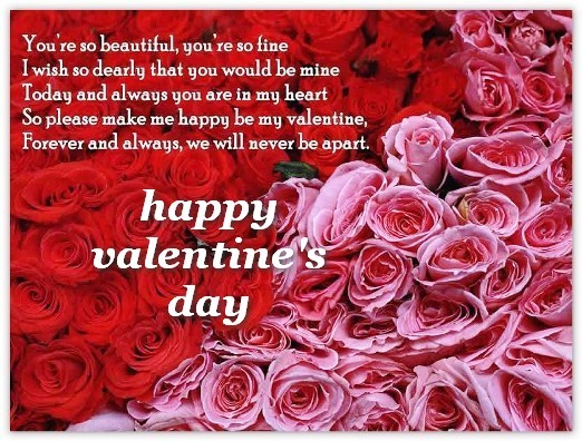 valentines day presents flower card quotes quotesgram 31036