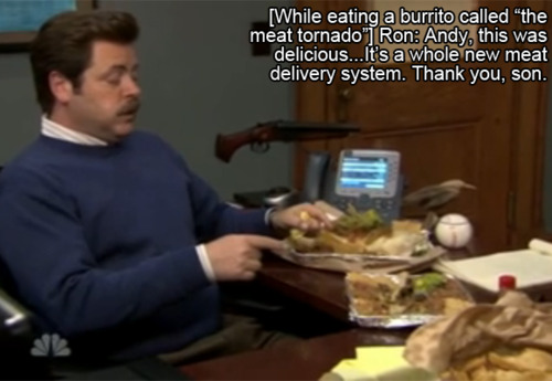 Funny Ron Swanson Quotes Funny Kitchen Decor Meat Quotes by Ron Swanson Meat Quotes Meat Tornado Parks and Rec Best Ron Swanson Quotes