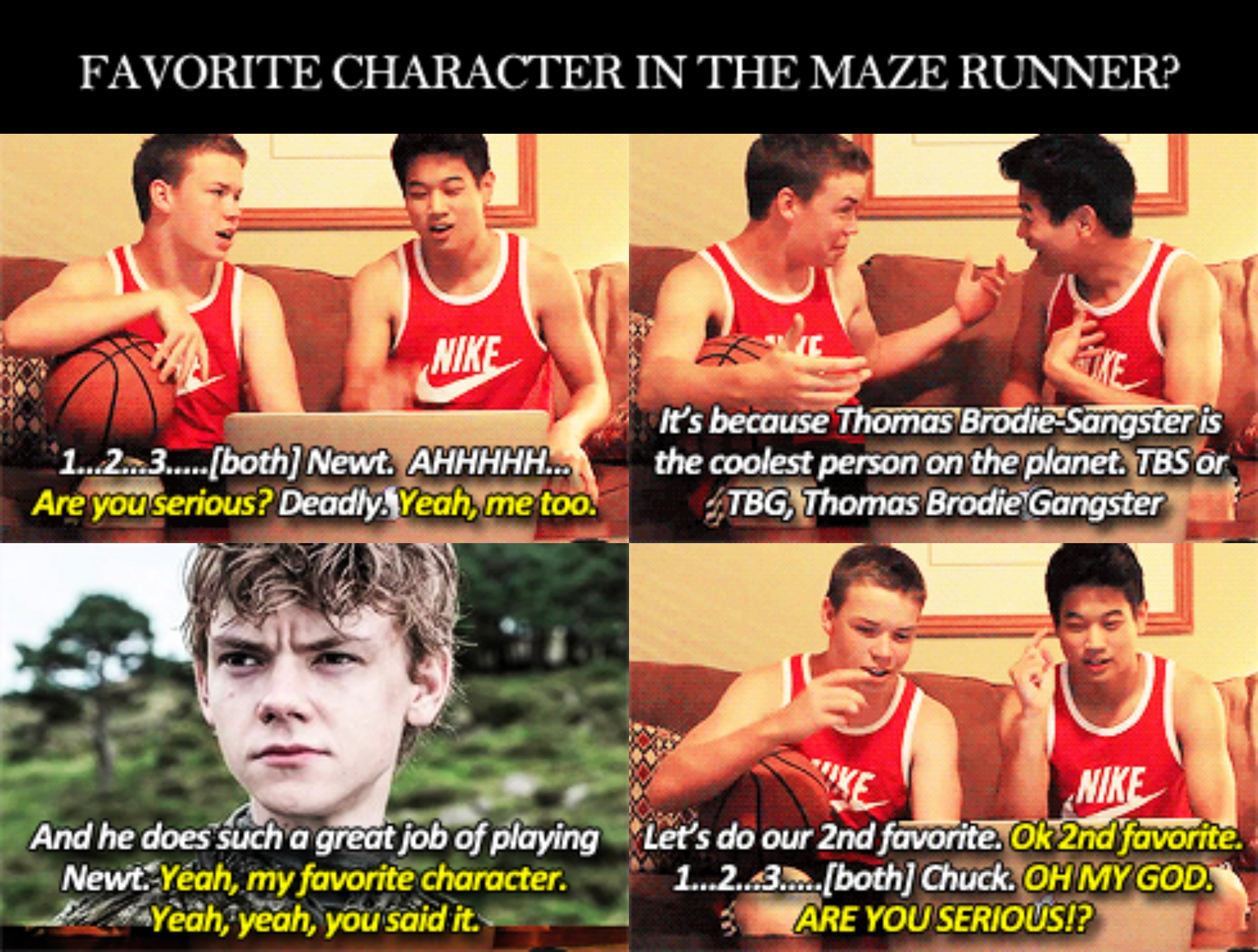 Maze Runner Quotes With Page Numbers: Maze Runner Quotes Funny. QuotesGram