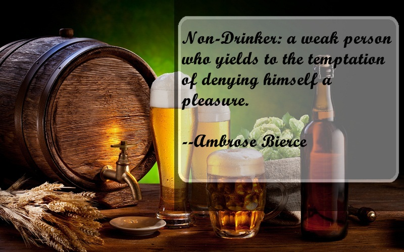 Funny Beer Drinking Quotes: Funny Quotes About Beer. QuotesGram